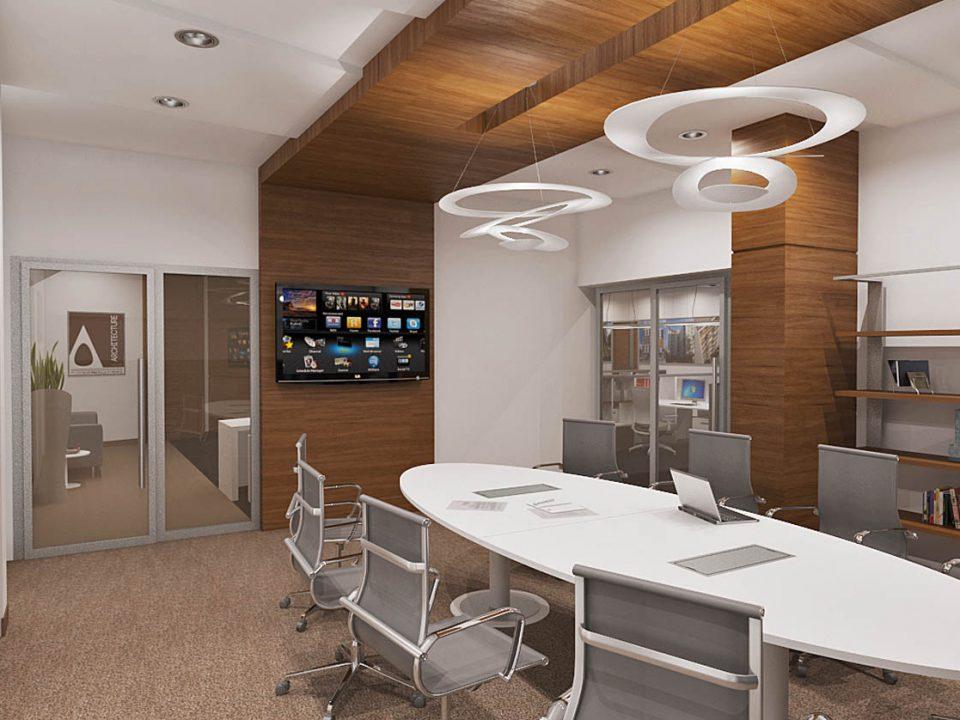 3D Enterijer poslovne kancelarije