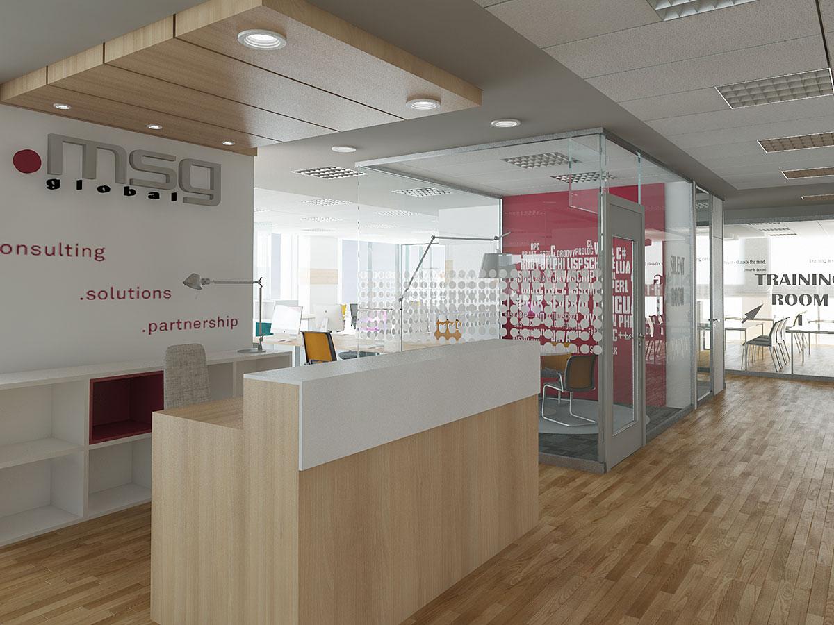 MSG 3D Enterijer kancelarijski prostor