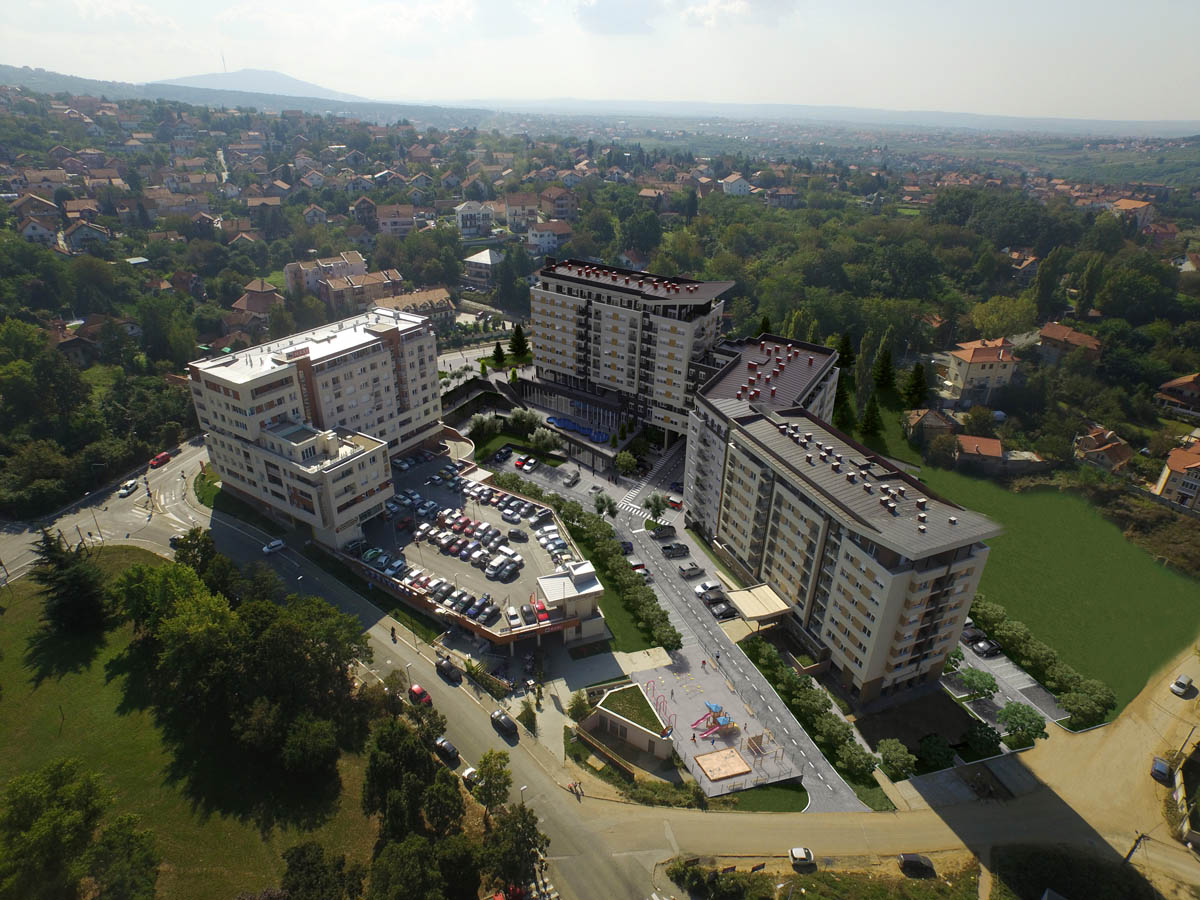 3d zgrada stambeni kompleks